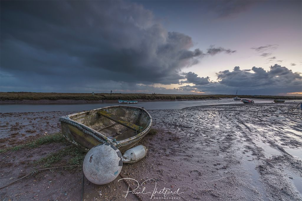 Morston storm clouds