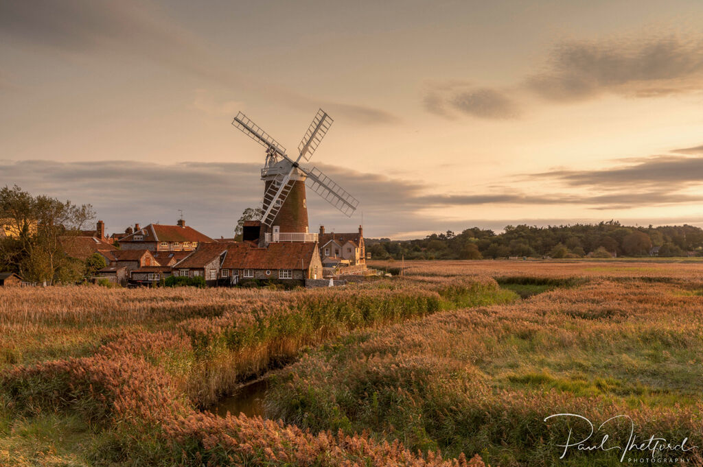 Cley Mill Autumn Golds 2