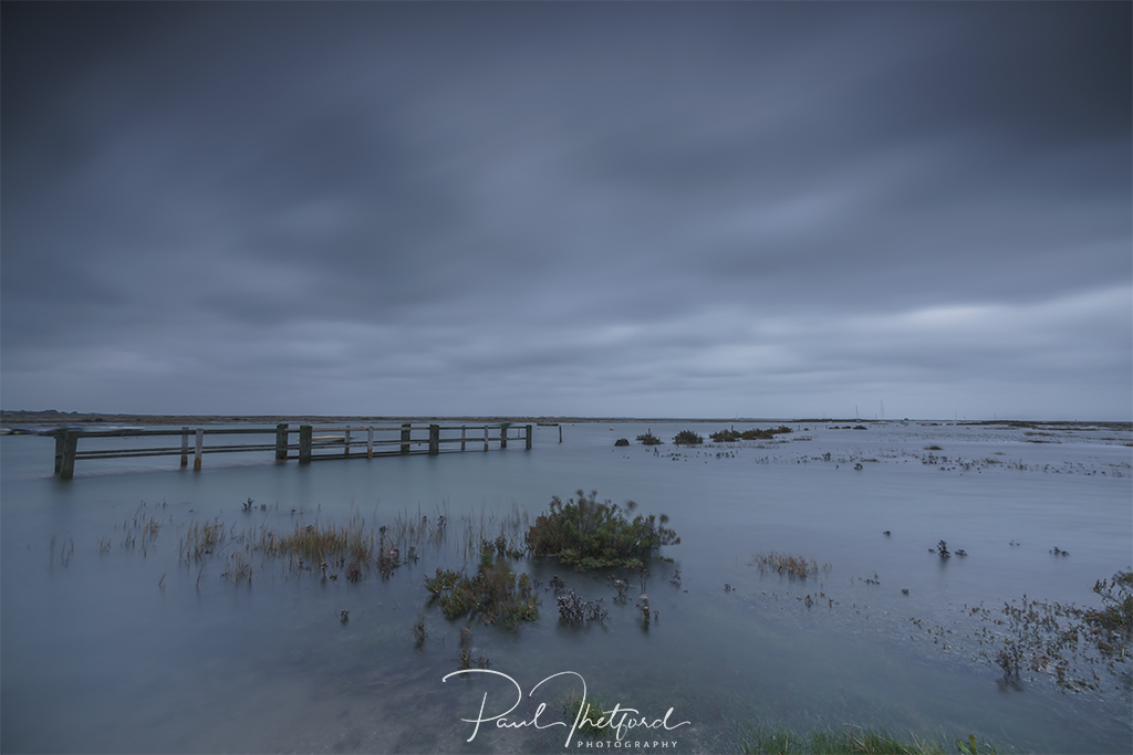 Spring tide Blakeney