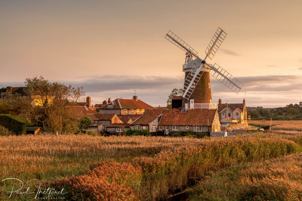 Cley Mill Autumn Golds