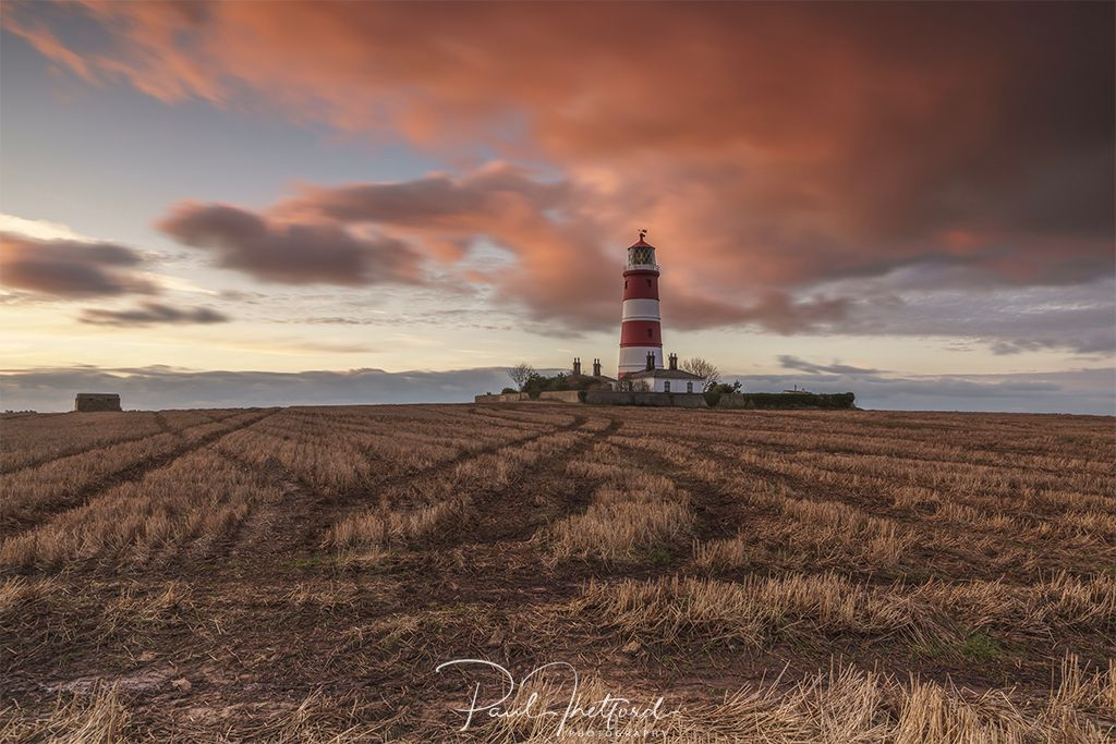 Happisburgh Lighthouse Autumn 2