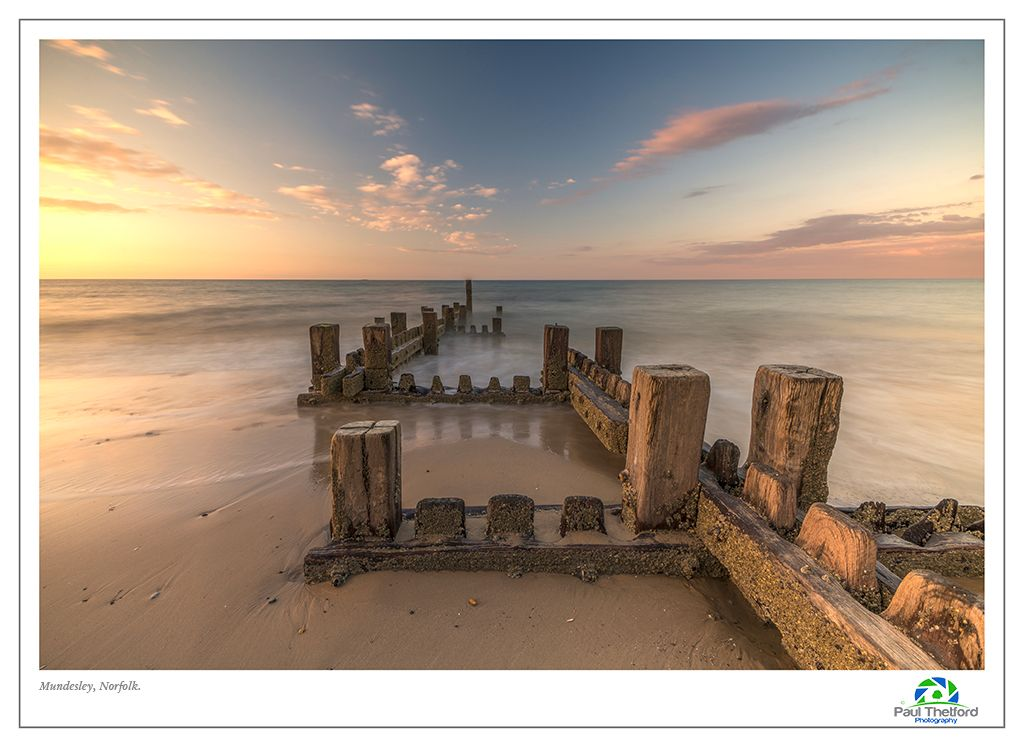Mundesley Evening Tide 2
