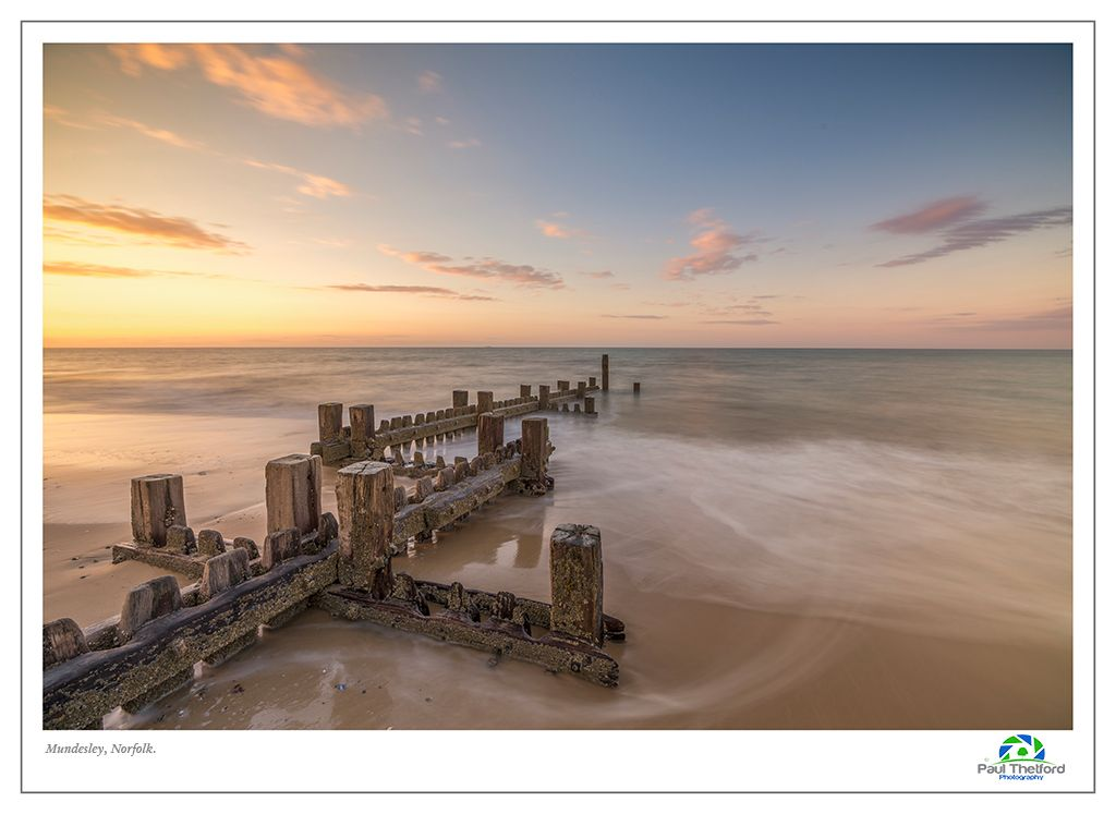 Mundesley Evening Tide 3