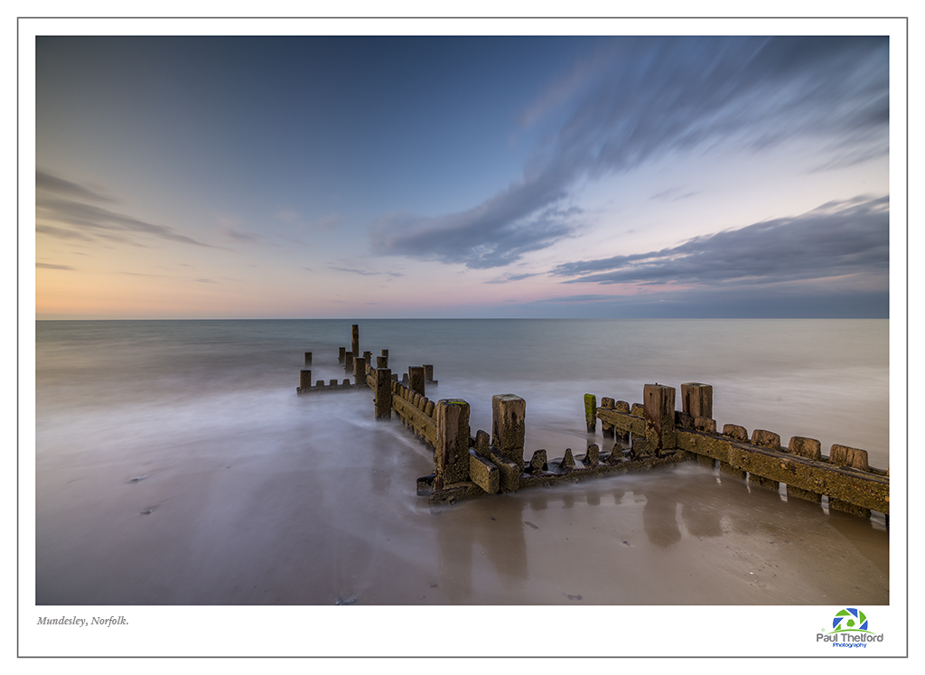 Mundesley Evening Tide 4