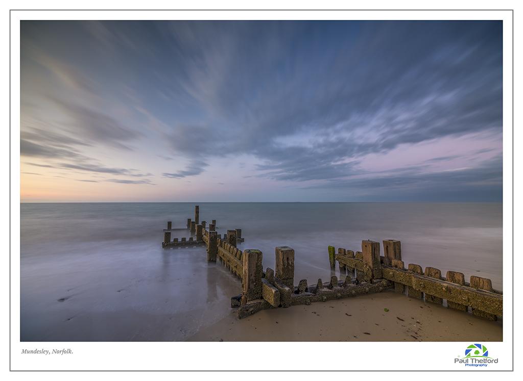 Mundesley Evening Tide