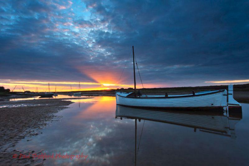Burnham Overy Staithe Sunset 2
