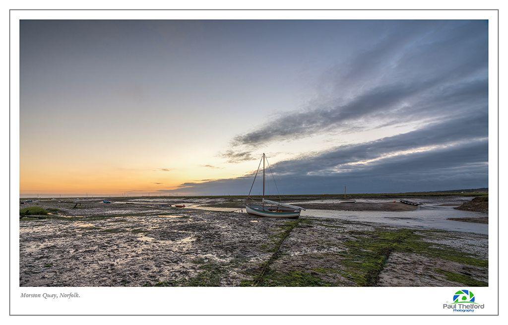 Morston Quay Dawn 2 August 17