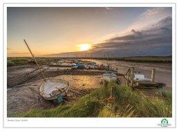 Morston Quay Dawn 4 August 17