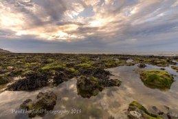 Rock pools West Runton Beach 2