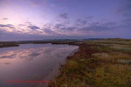 Sunrise Norfolk Marsh