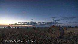 Last days of  Harvest. Dawn