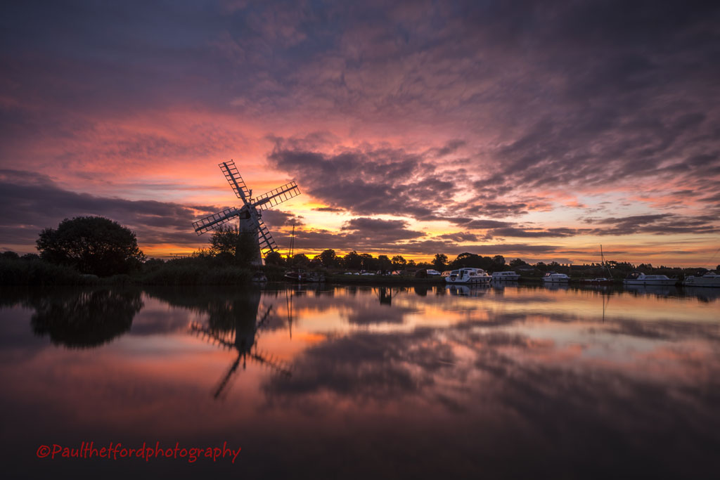 Thurne sunrise 3