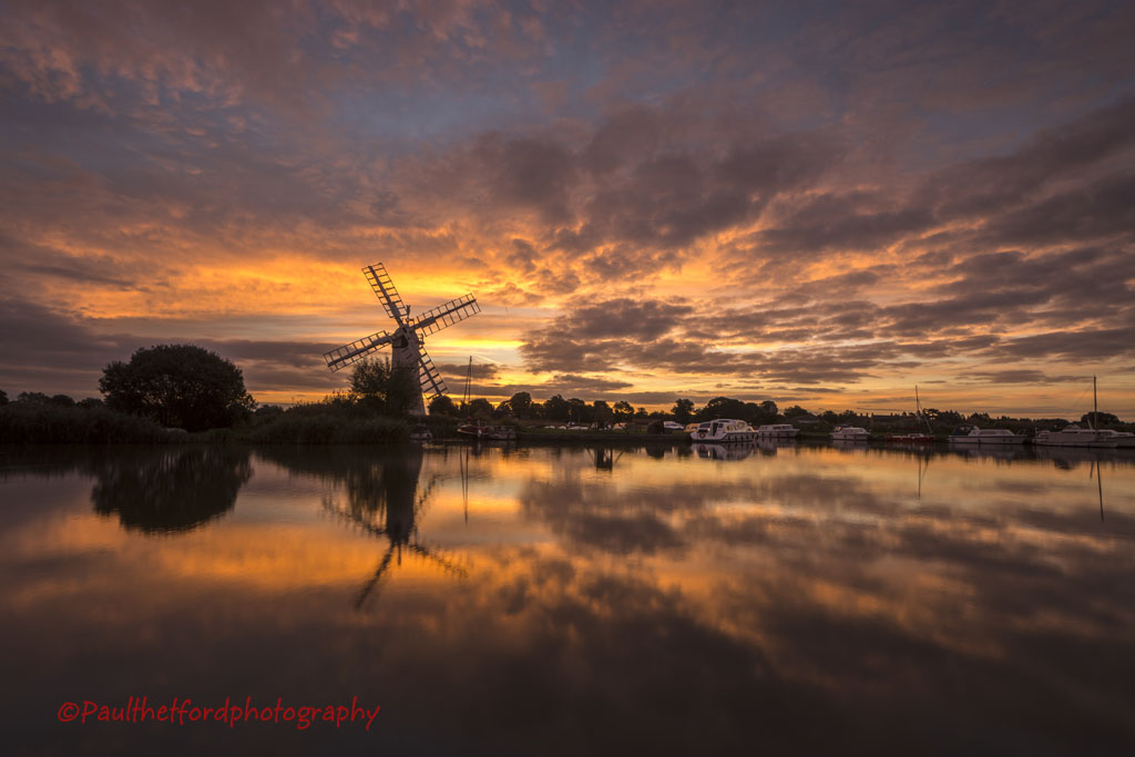 Thurne sunrise 6