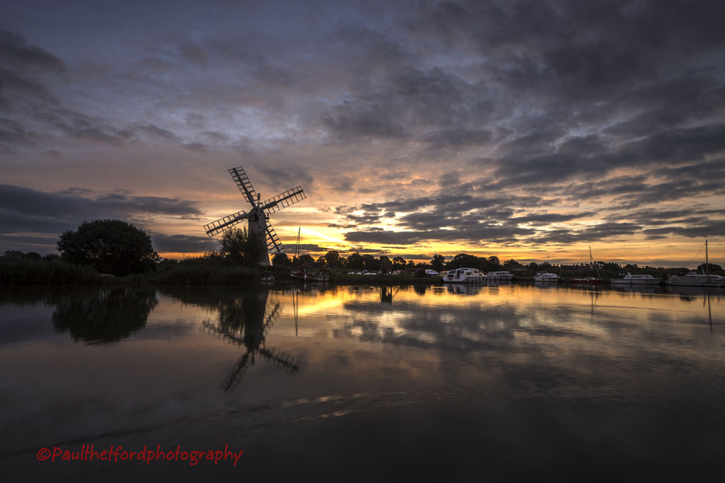 Thurne sunrise 7