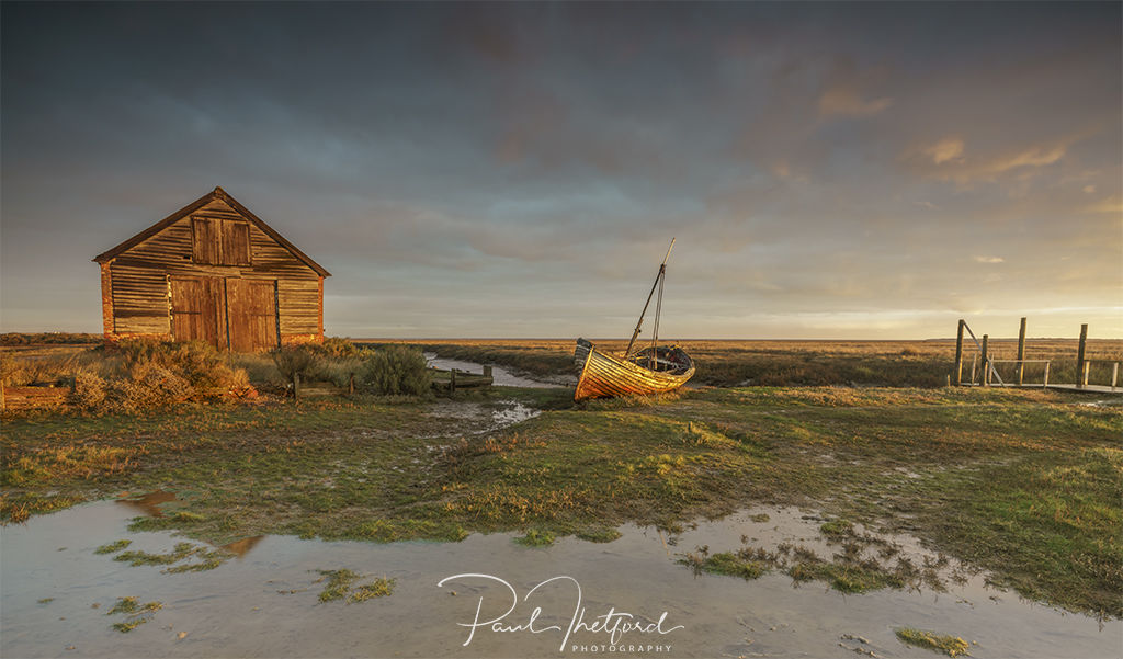 Thornham Creek Golden light