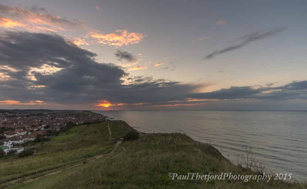 Sheringham sundown