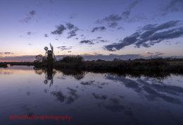 Turf Fen Mill sunset 3