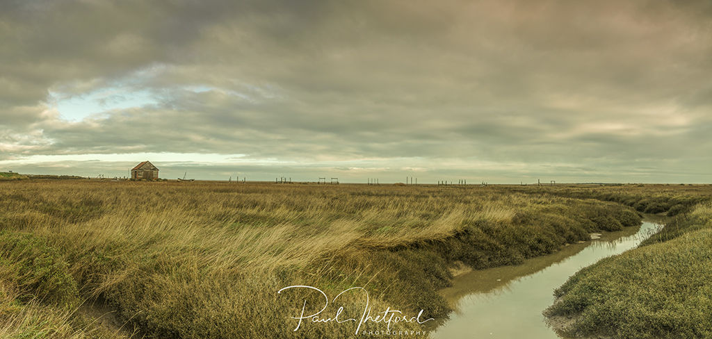 Thornham Creek panorama