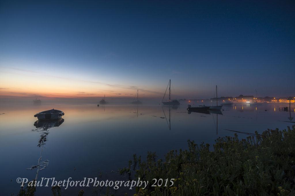 Misty Wells dawn