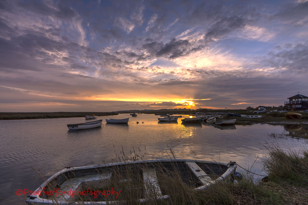 Morston Dawn autumn 2