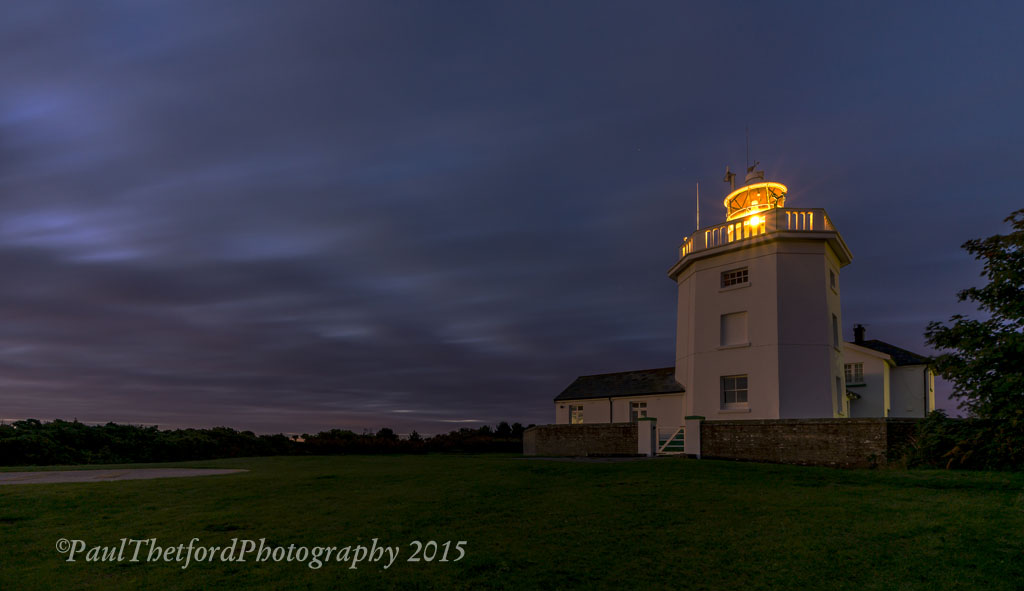 Dawn Cromer Lighthouse