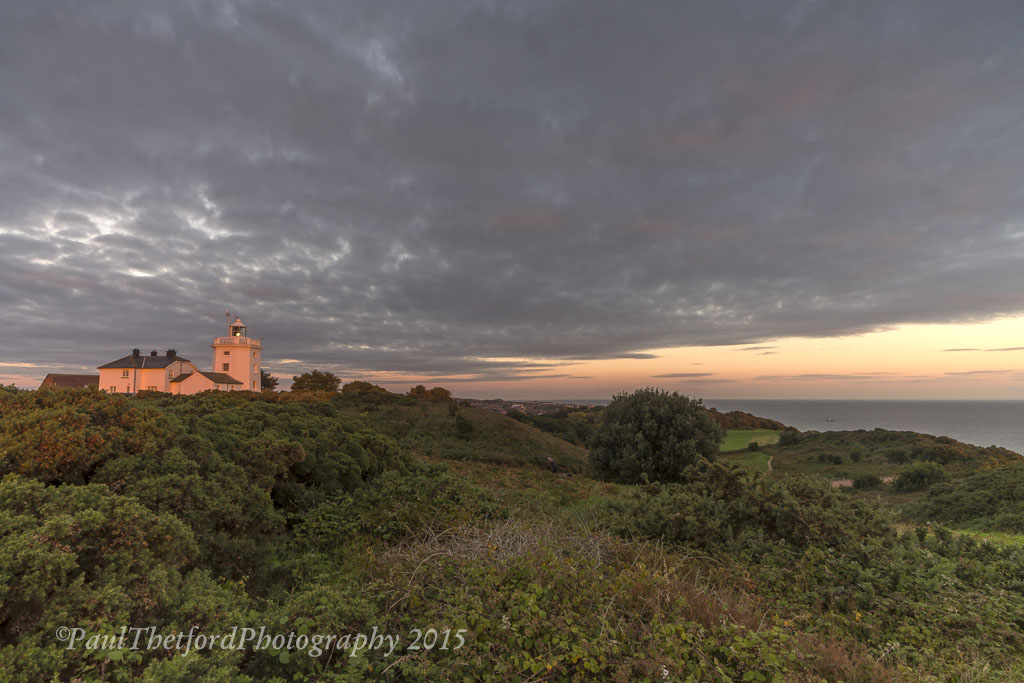 Dawn Cromer Lighthouse 3