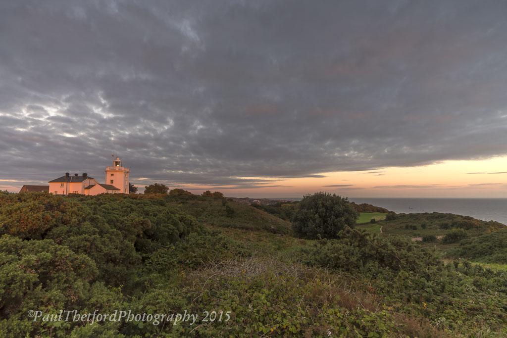 Dawn Cromer Lighthouse 3