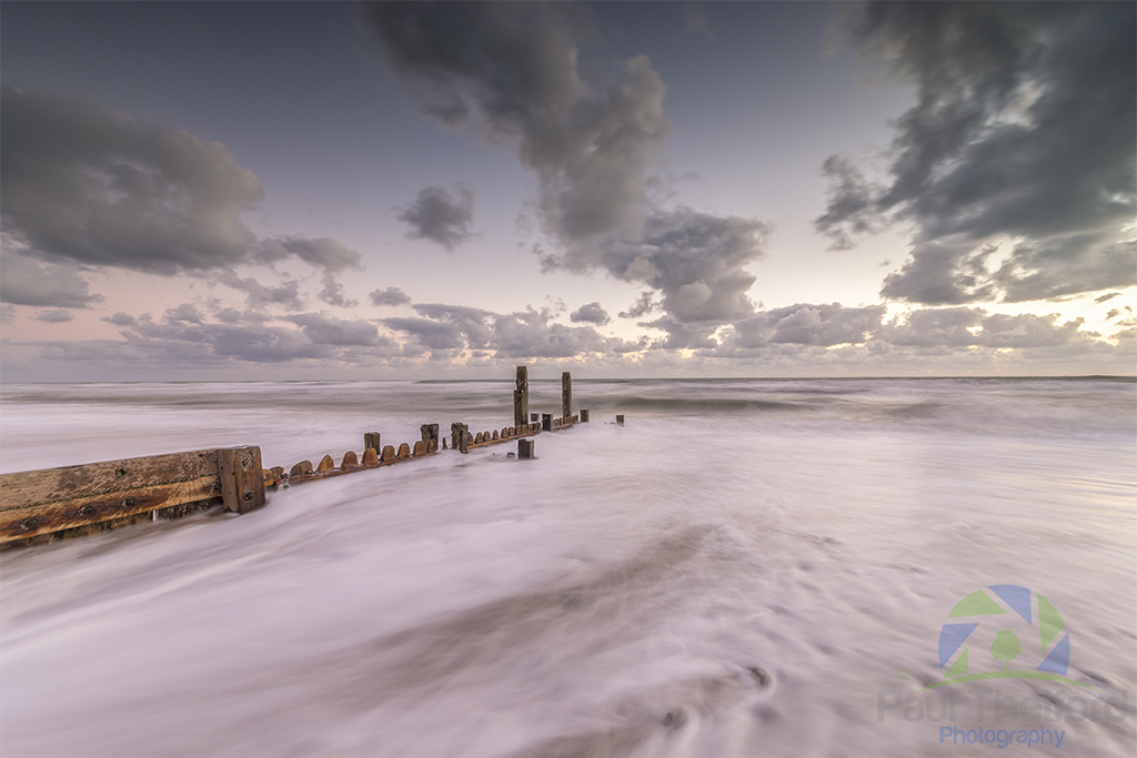 Mundesley incoming tide 5