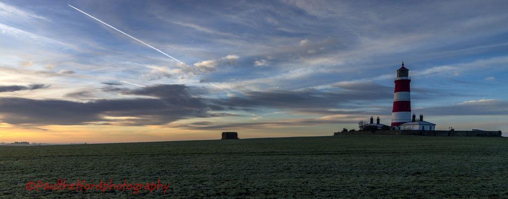 Happisburgh Lighthouse sunrise 1