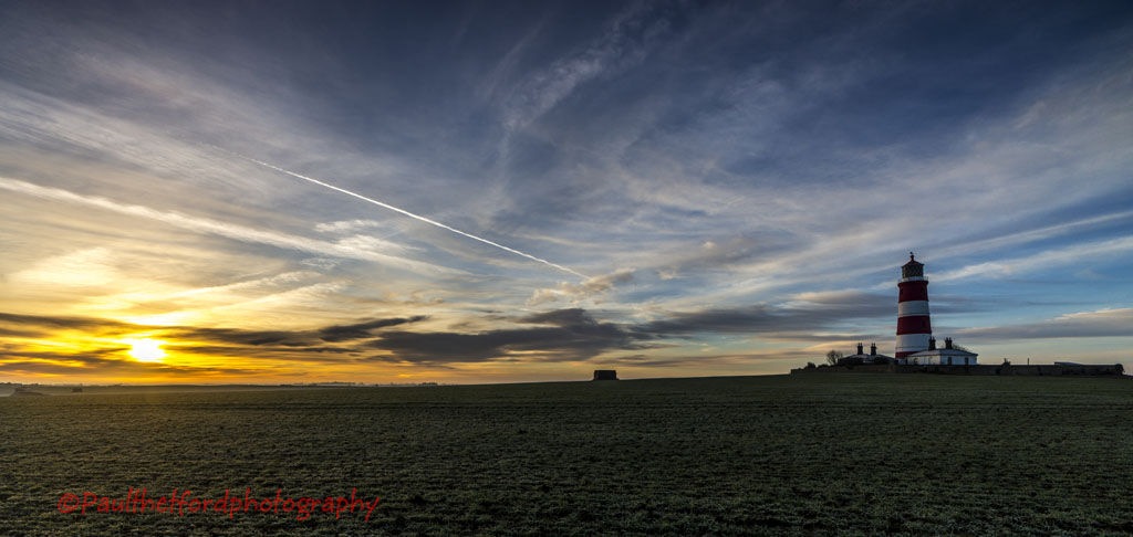 Happisburgh Lighthouse sunrise 2