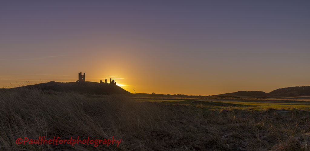 Dawn Dunstanburgh Castle 3