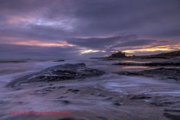 Dawn Bamburgh Castle