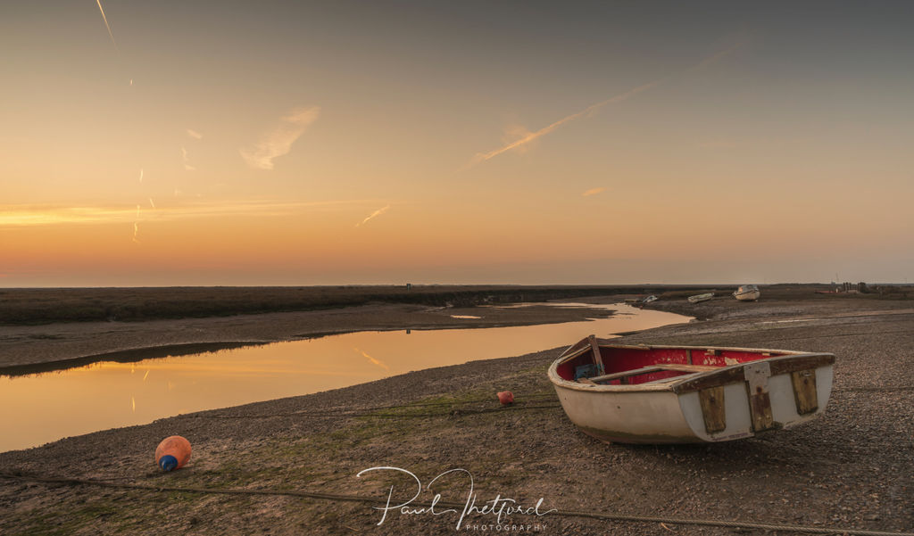 Blakeney Quay last light
