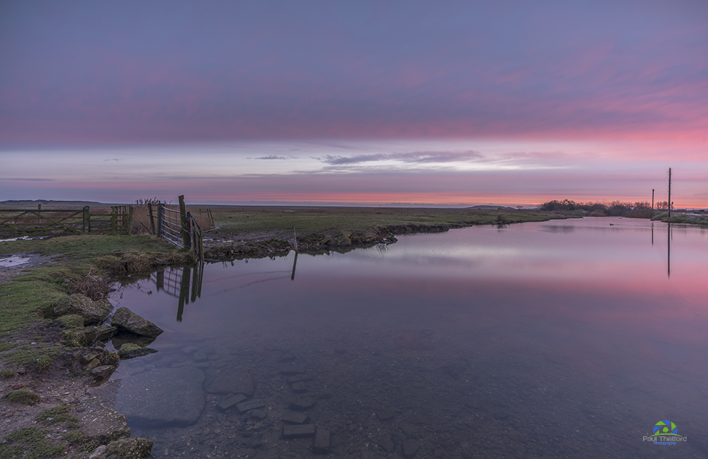 Salthouse dawn