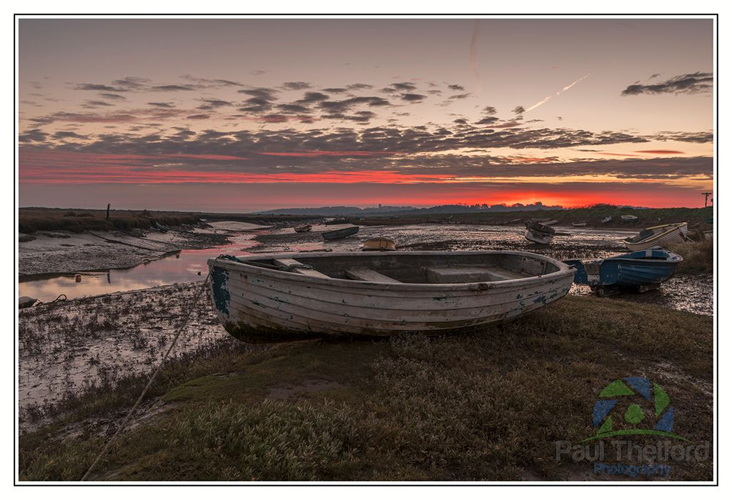 Morston Quay Winters Dawn