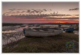 Morston Quay Winters Dawn