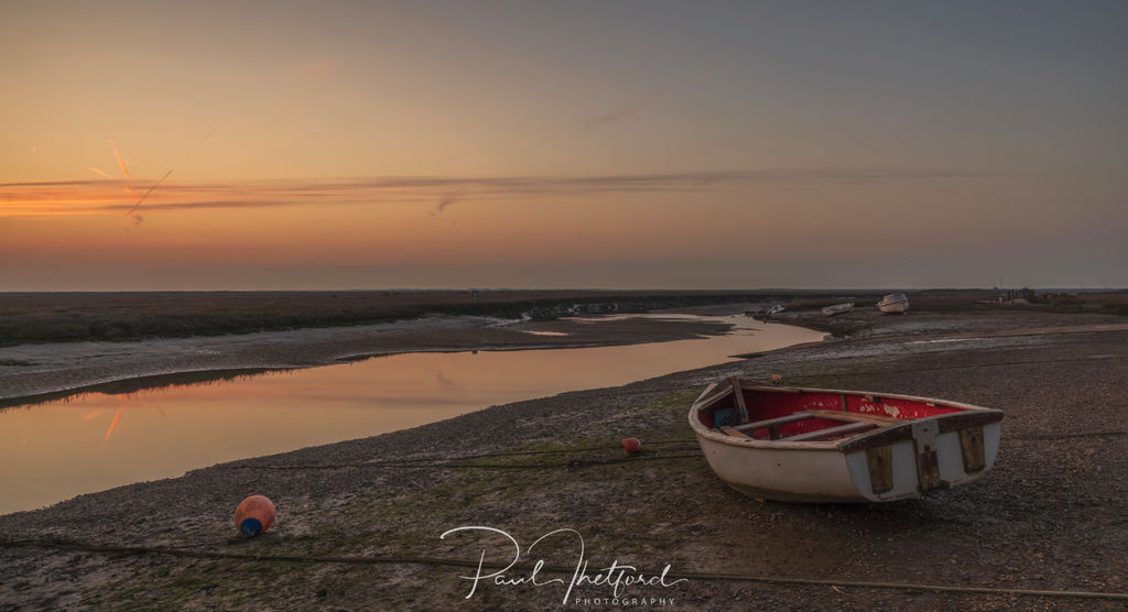 Blakeney Quay last light 2