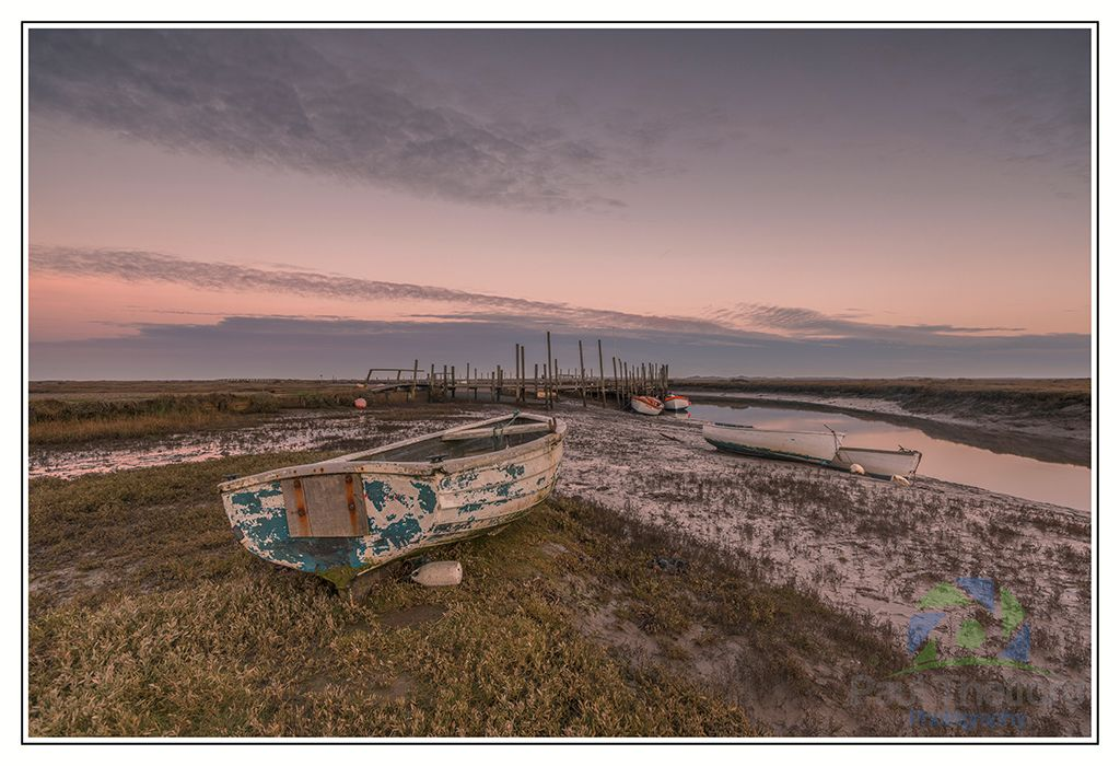 Morston Quay Winters Dawn 2