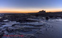 Dawn Bamburgh Castle 4