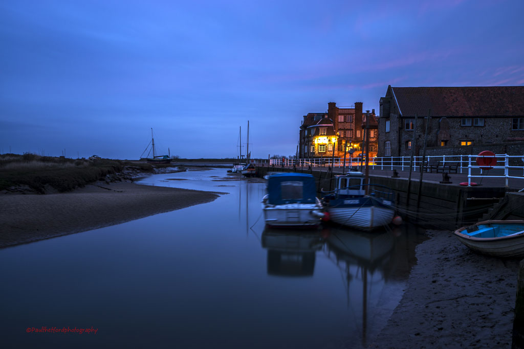 Blakeney Quay Dawn