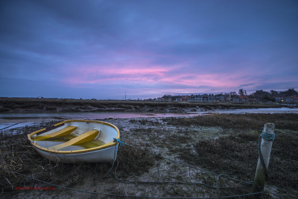 Blakeney Quay Dawn 4