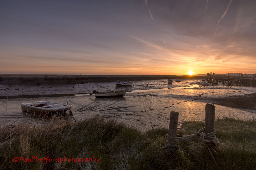 Early Light Morston Quay 3