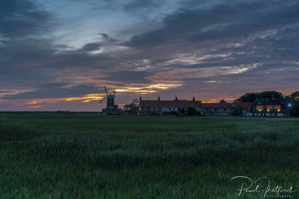 Cley Mill Summer sunrise 2
