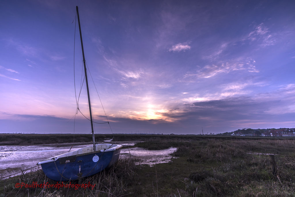 Dawn over Blakeney 3