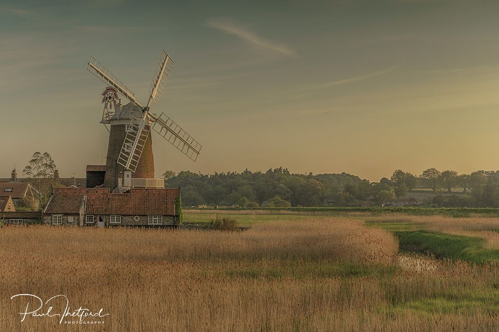 Cley Mill Evening Light
