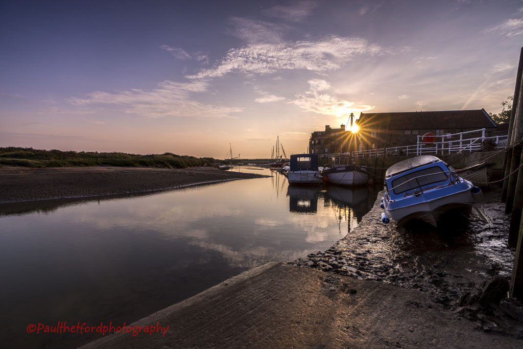 Dawn over Blakeney Quay