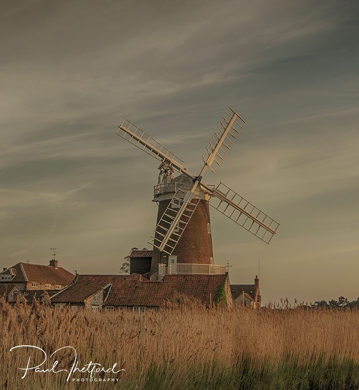 Cley Mill Evening Light 3