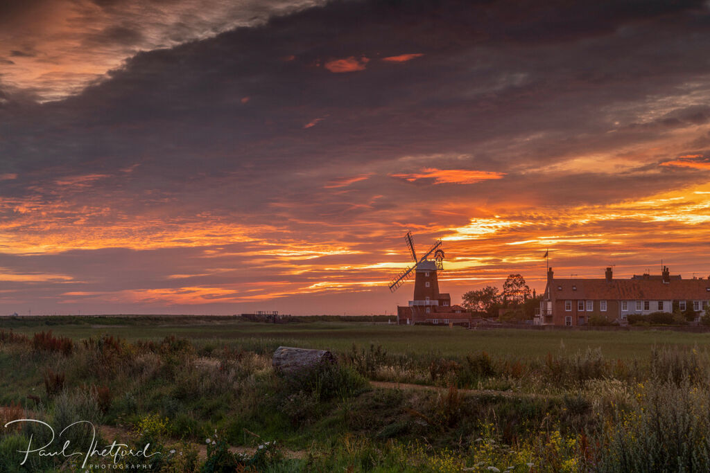 Cley Mill Summer sunrise 4