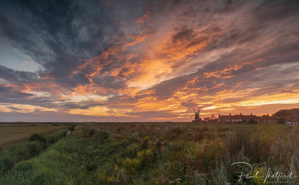 Cley Mill Summer sunrise 5