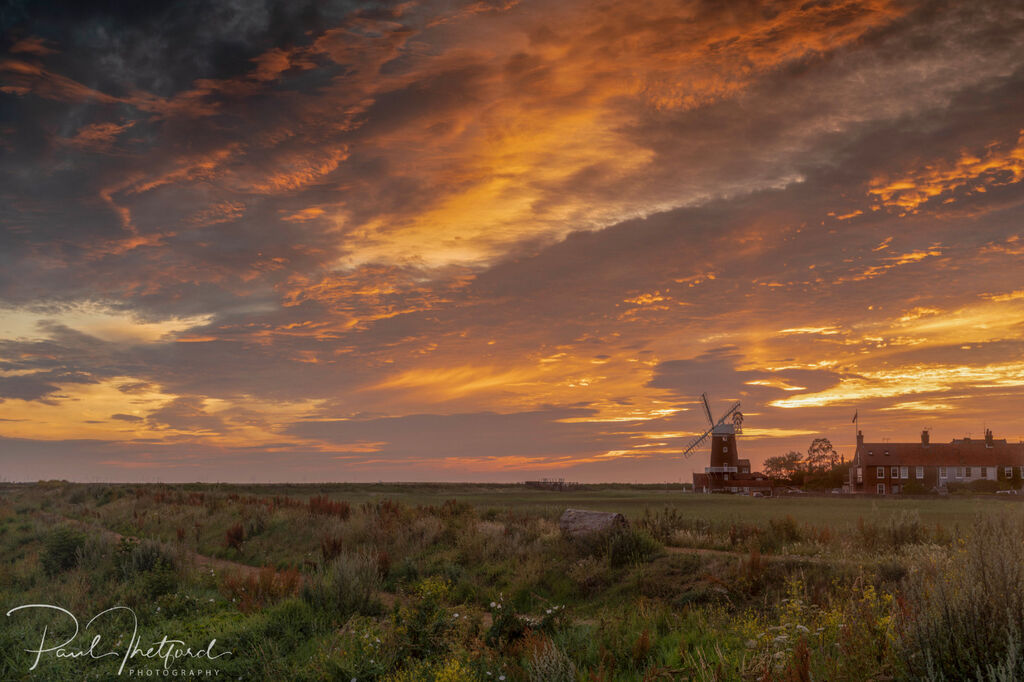 Cley Mill Summer sunrise 6